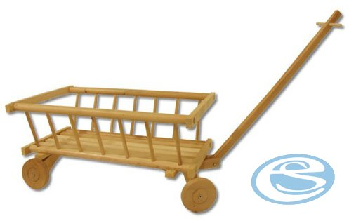 Dřevěný vozík pro děti AD261 - Drewmax