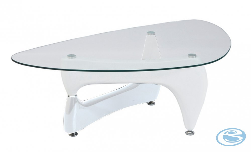 Konferenční stolek Omega bílý - SIGNAL