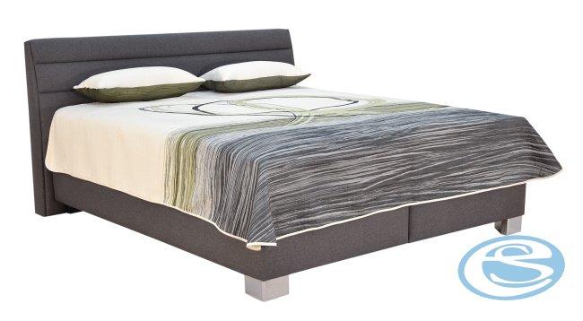 Čalouněná postel VERNON (s matrací Ivana Plus) 180x200 - BLANAŘ