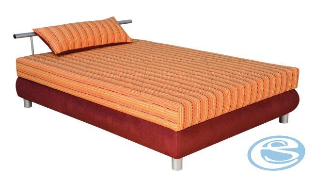 Čalouněná postel Adriana 2 (s matrací Alena) 140x200 - BLANAŘ