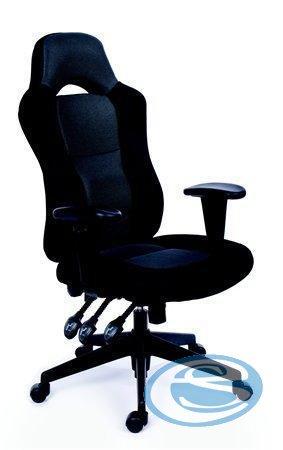 Kancelářská židle Racer černošedá - MAYAH