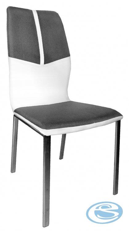 Jídelní židle H668 šedobílá - FALCO