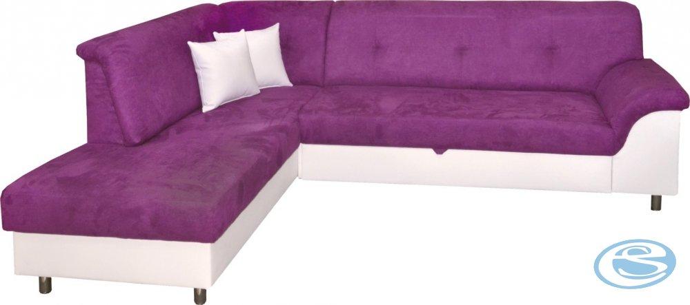 Sedací souprava Valérie levá fialová - FALCO