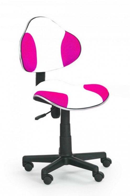 Dětská židle Flash Q-G2 bílo-růžová - FALCO