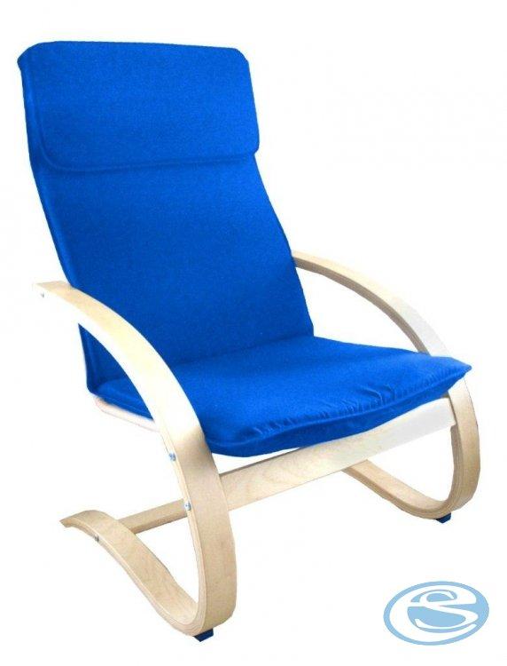 Relaxační křeslo houpací Aly R03 modrá - FALCO