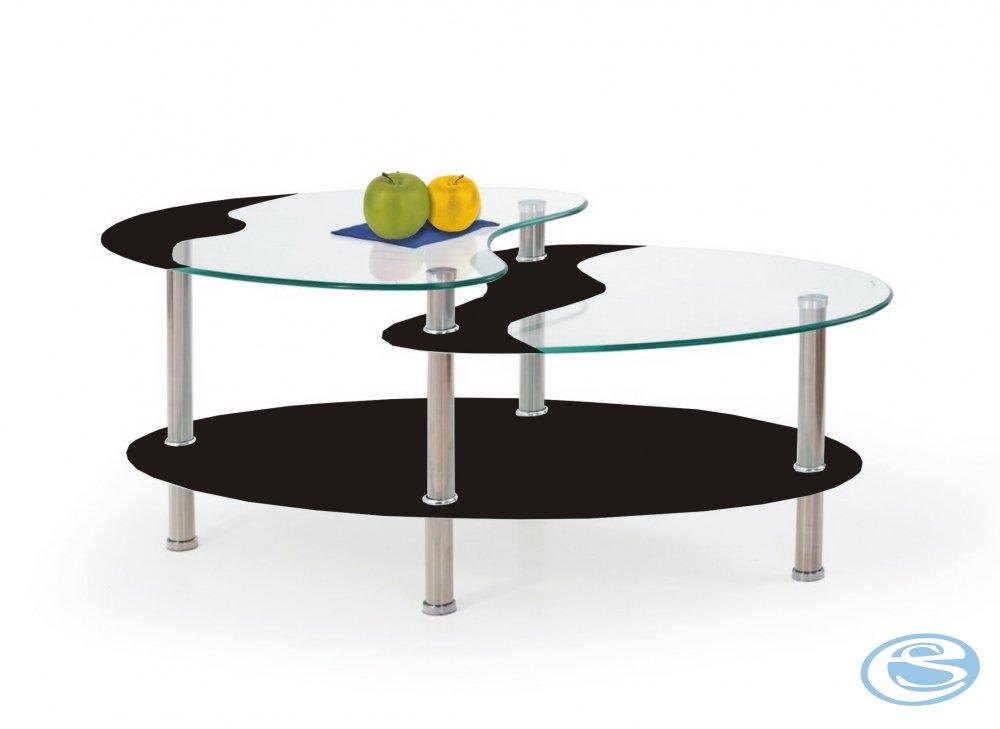 Konferenční stolek Sámos černý - FALCO