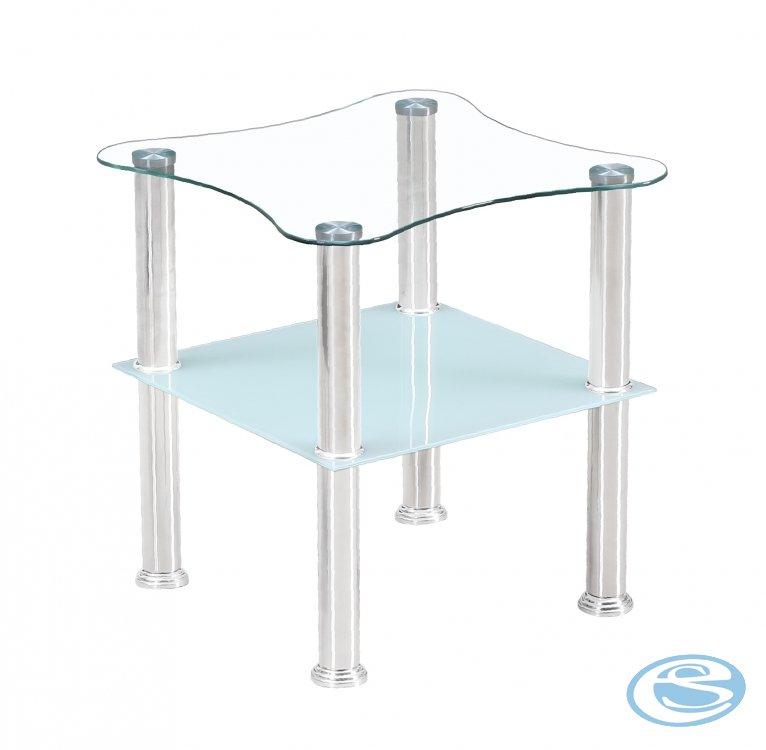 Konferenční stolek Canaria bílý - FALCO