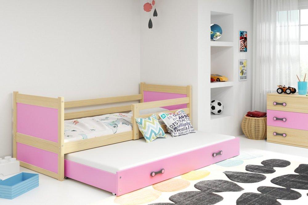 Patrová postel Rico 3 s přistýlkou - BMS