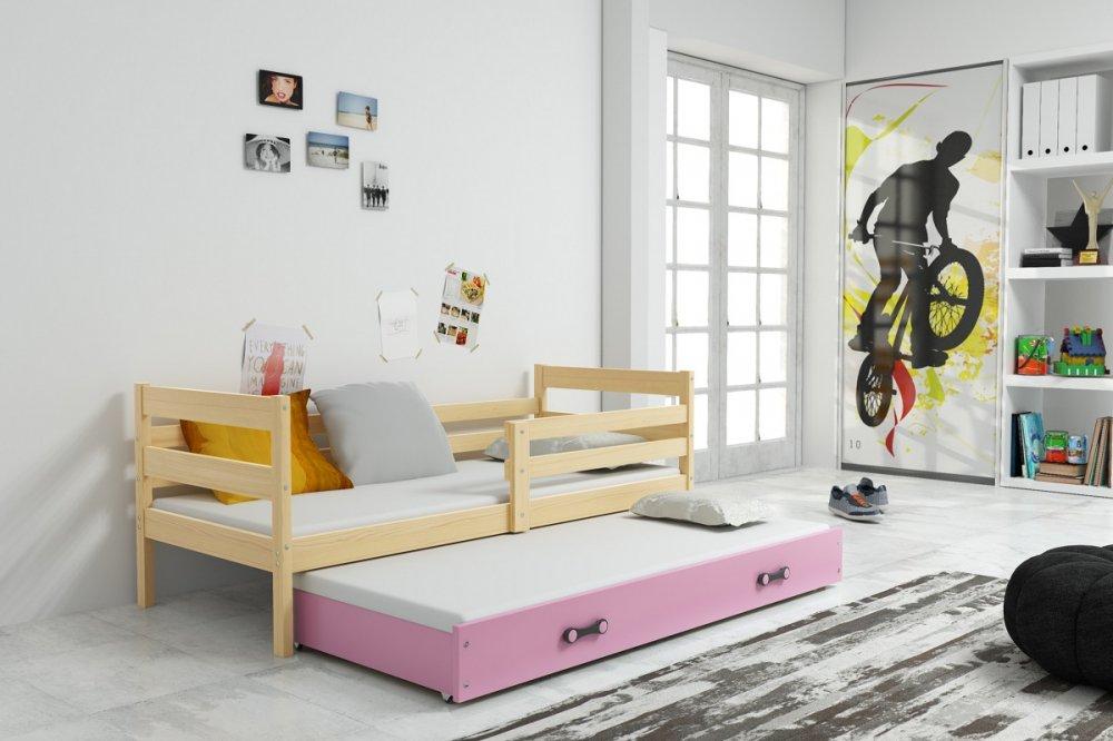 Dětská rozkládací postel Eryk II 90x200 cm - BMS