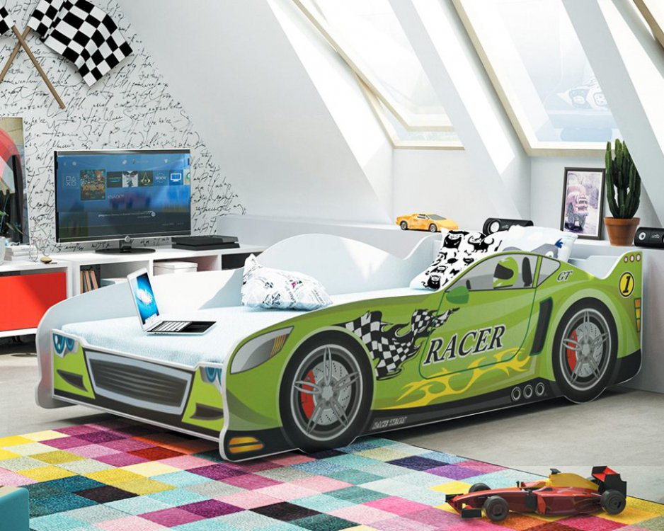 Dětská postel auto Cars 160x80 - BMS