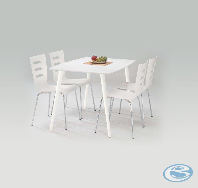 Jídelní stůl Omega bílý - HALMAR