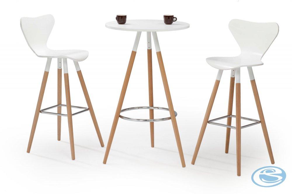 Halmar Barový stůl SB-7, bílý - HALMAR