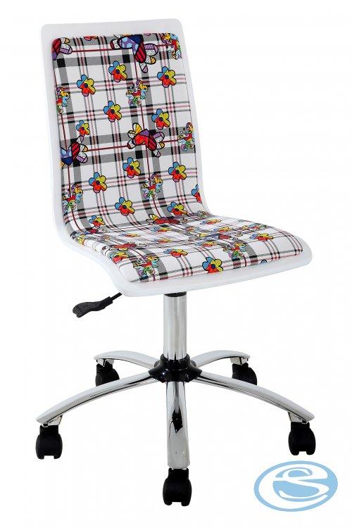 Halmar Židle FUN-13, bílá - HALMAR
