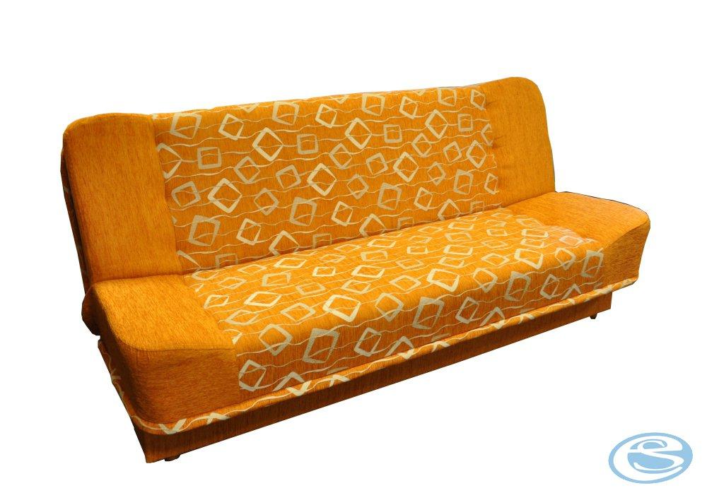 Pohovka Sandra oranžová - FALCO
