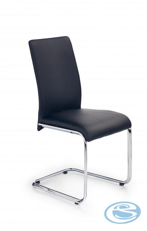 Jídelní židle Emilio černá - HALMAR