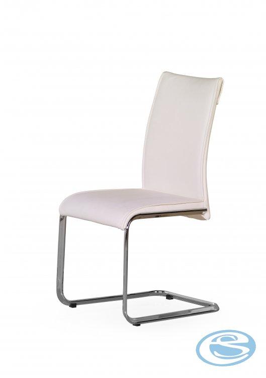 Jídelní židle Paolo bílá - HALMAR