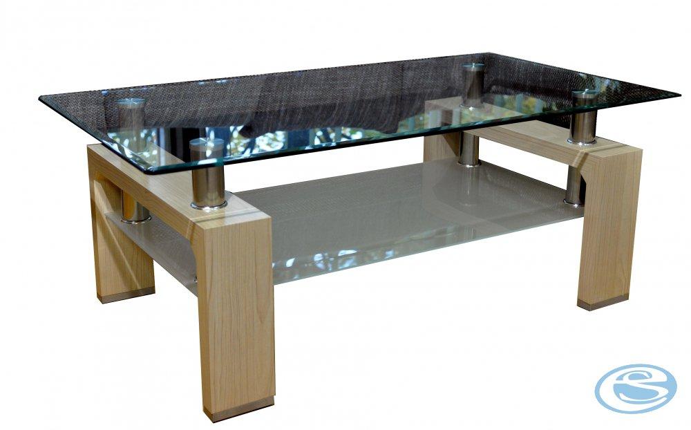 Konferenční stolek Diana sonoma světlá - FALCO