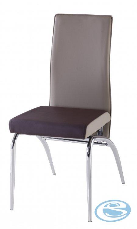 Jídelní židle F106 béžovohnědá - FALCO
