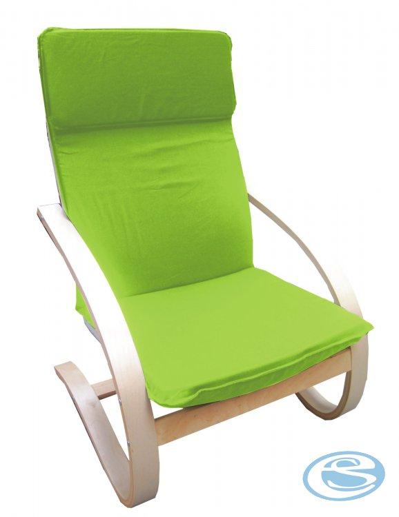 Relaxační křeslo houpací Aly R03 žlutozelená - FALCO