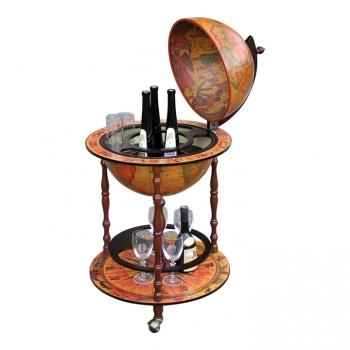 Servírovací stolek GLOBUS 2-324 třešeň - TempoKondela