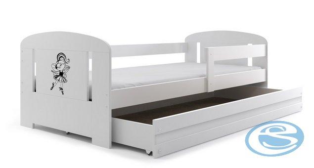Dětská postel Filip s úložným prostorem 160x80 sonoma - BMS