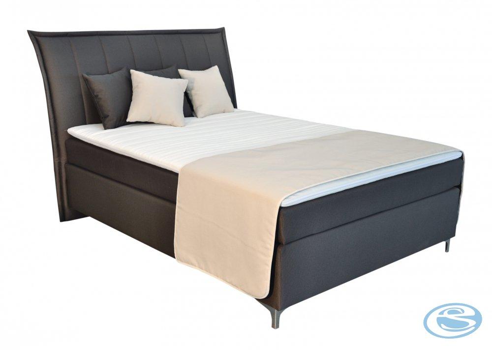 Čalouněná postel Colorado 140x200 - BLANAŘ