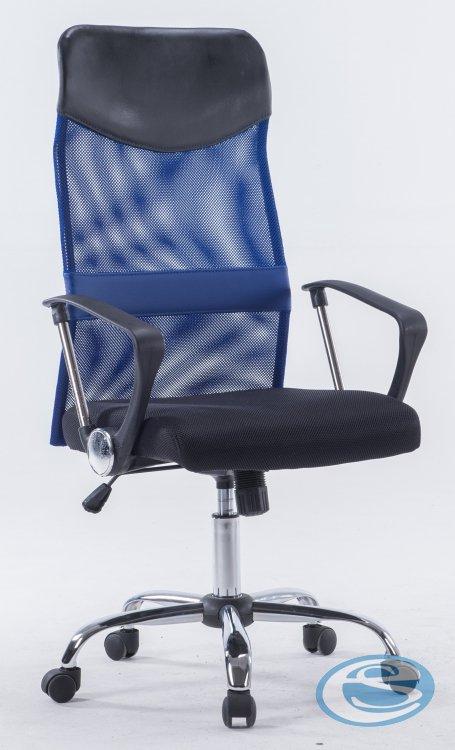 Kancelářské křeslo W 1007 Prezident modrá - FALCO