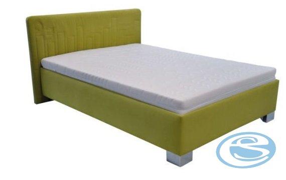 Postel Dona 120x200 s matrací Nelly zelená - BLANAŘ