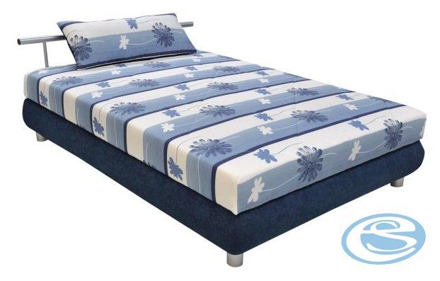 Postel Adriana 110 s matrací Alena modrá - BLANAŘ