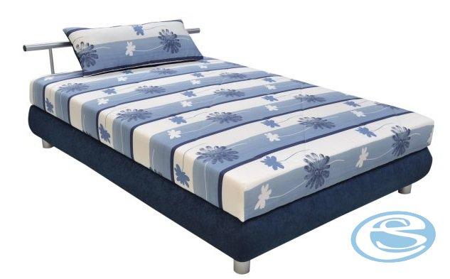 Postel Adriana 140 s matrací Alena modrá - BLANAŘ