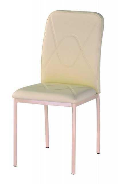 Jídelní čalouněná židle H-623 béžová/chrom - FALCO