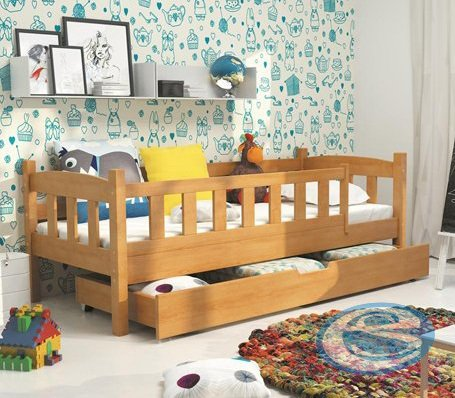 Dětská postel Grzeš 160x70 olše 160x80 - BMS