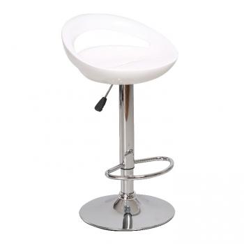 Barová židle DONGO NOVE bílá - TempoKondela