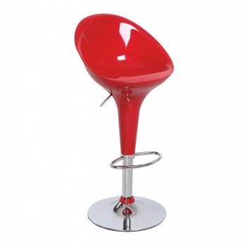 Barová židle ALBA NOVA červená - TempoKondela