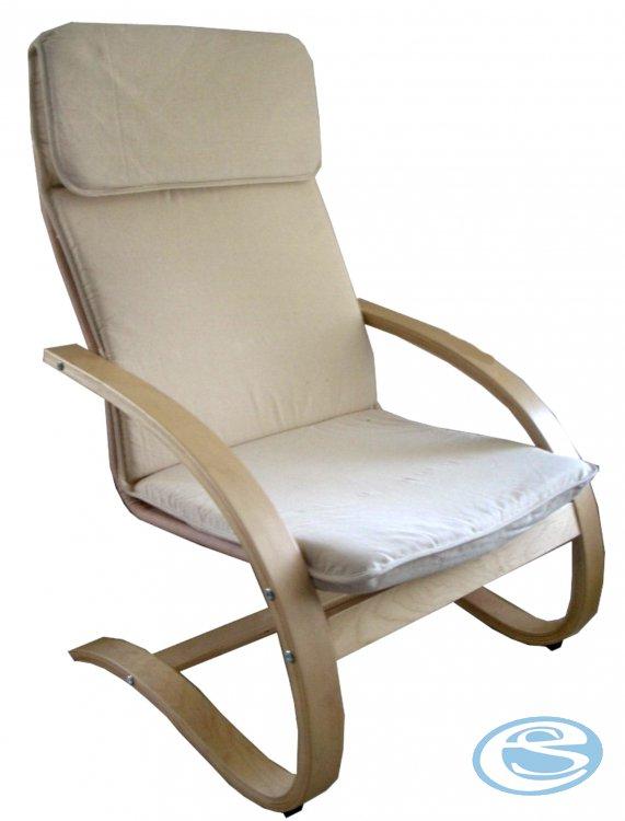 Relaxační křeslo houpací Aly R03 béžová - FALCO