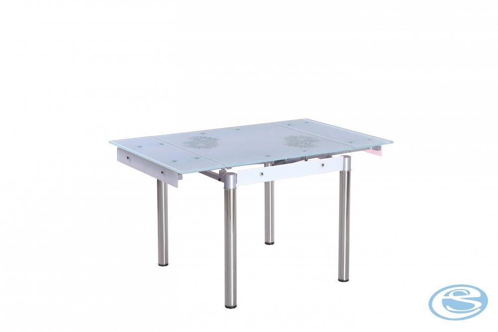 Rozkládací jídelní stůl Kent bílý - HALMAR