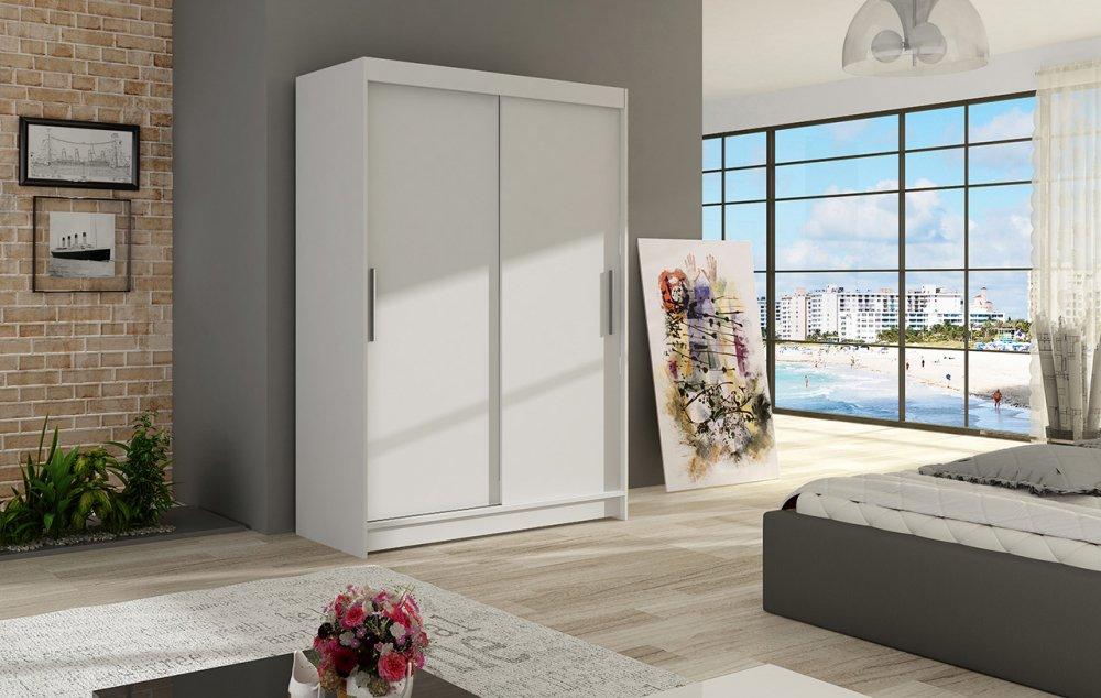Šatní skříň Miami I s posuvnými dveřmi - Ankon