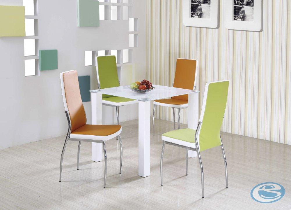 Jídelní stůl skleněný Merlot čtverec - HALMAR