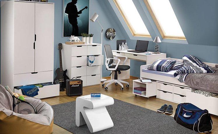 Dětský pokoj Eskimo 1 včetně lůžka - HALMAR