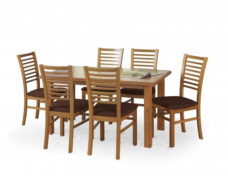 Rozkládací jídelní stůl Emil - HALMAR