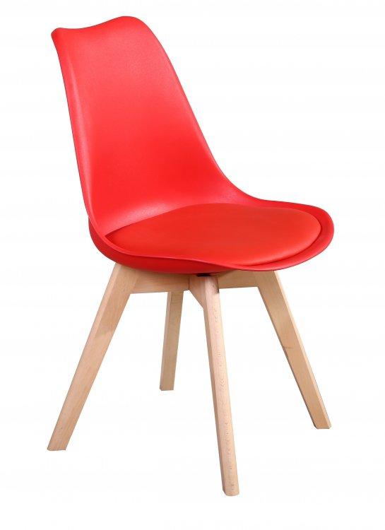 Jídelní židle PP-26 červená - FALCO