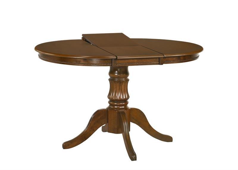 Rozkládací kulatý jídelní stůl William - HALMAR