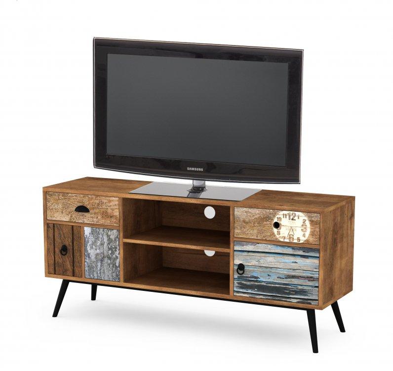 TV stolek Mezo RTV-1 vícebarevný - HALMAR