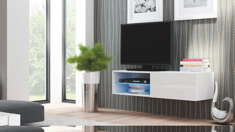 TV stolek Livo RTV-120W - HALMAR