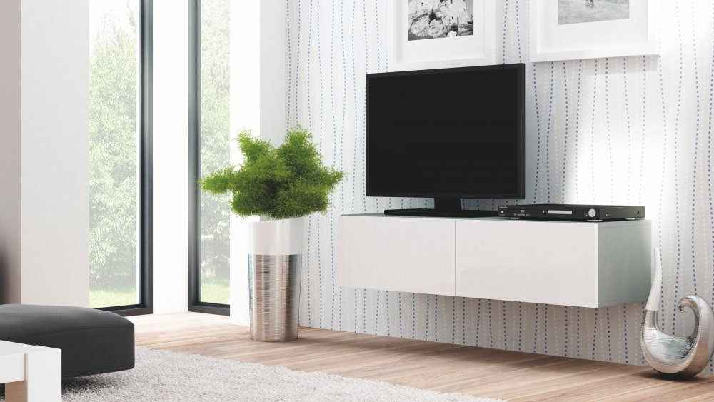 TV stolek Livo RTV-160W - HALMAR