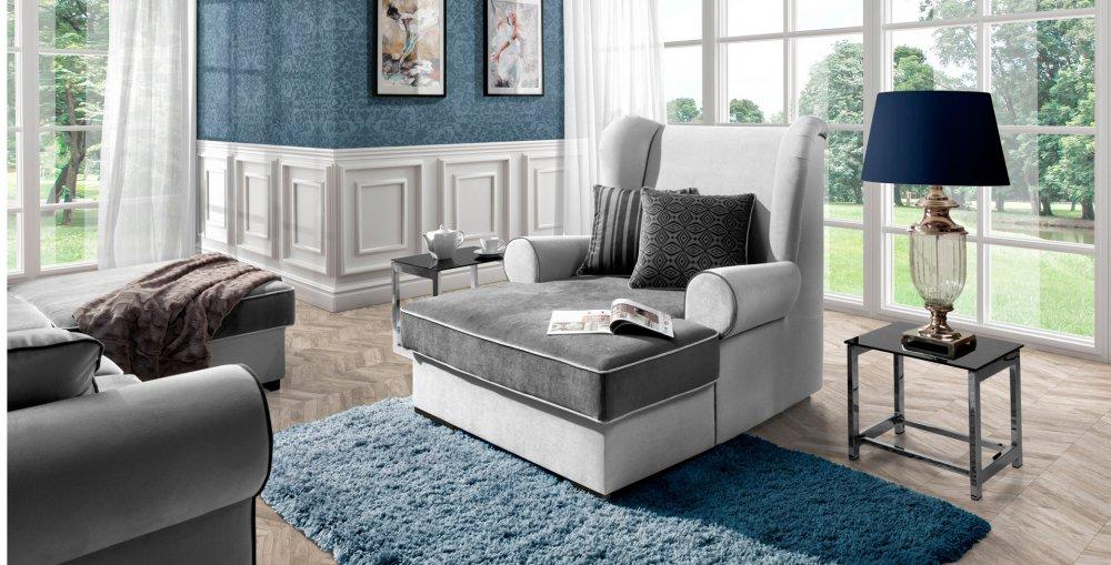 Křeslo Deluxe Longchair - WERSAL