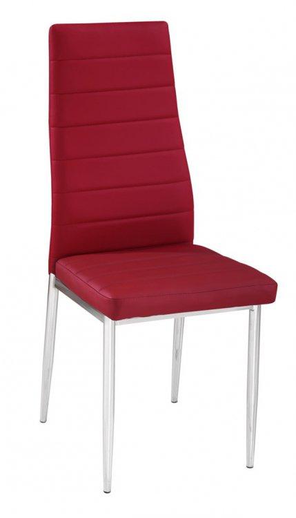 Jídelní židle F-261 vínová - FALCO