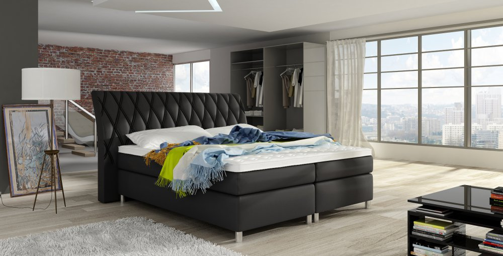Postel Glamour boxspring 140x200 - WERSAL