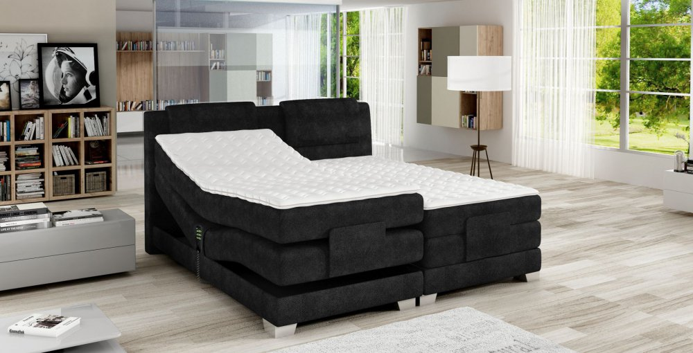postel boxspring 180x200. Black Bedroom Furniture Sets. Home Design Ideas