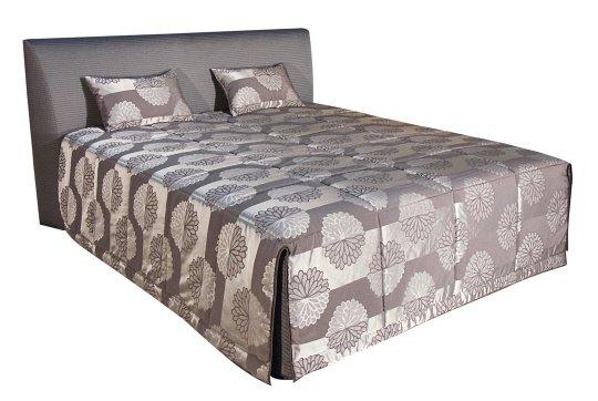 Čalouněná postel Evita 180x200 Eleganz hnědá - BLANAŘ